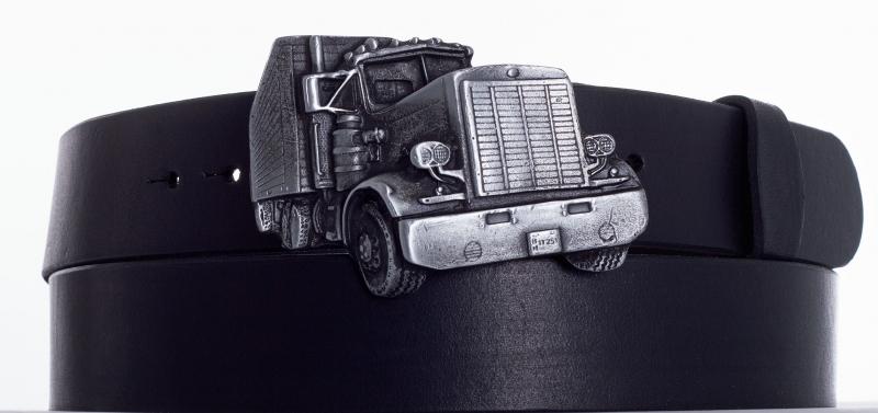Kožené opasky - Opasek kamion