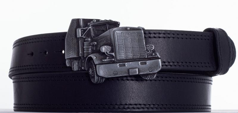 Kožené opasky - Opasek kamion ob.