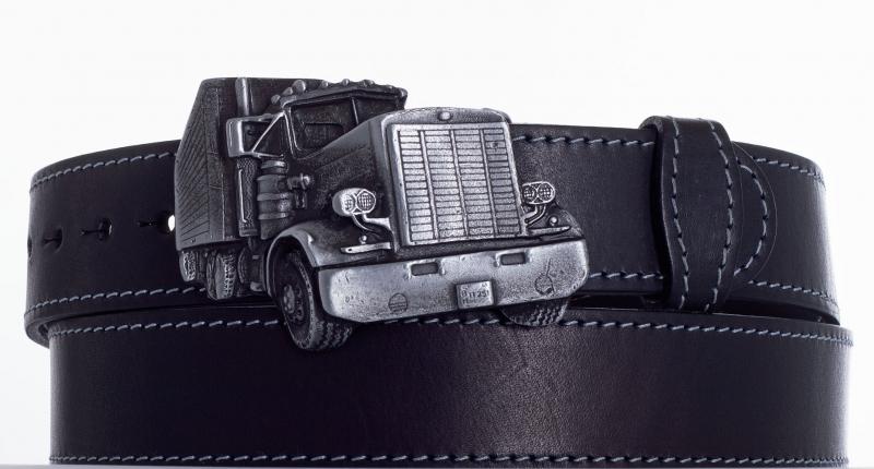 Kožené opasky - Opasek kamion ob.š