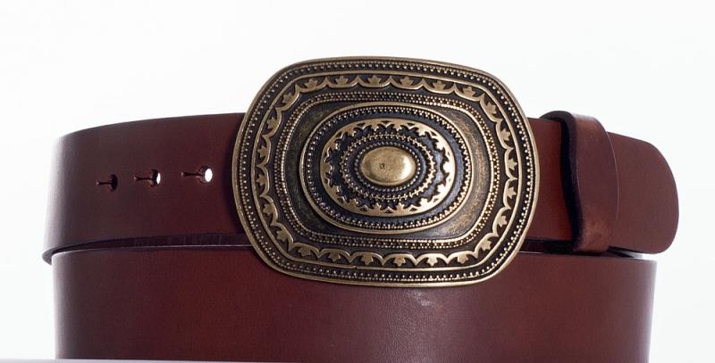 Kožené opasky - Pásek aztec