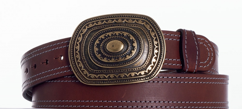 Kožené opasky - Pásek aztec ob2š