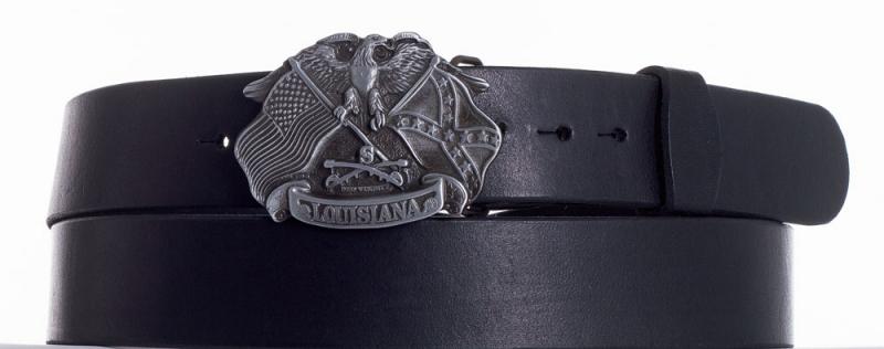 Kožené opasky - Kožený pásek Louisiana