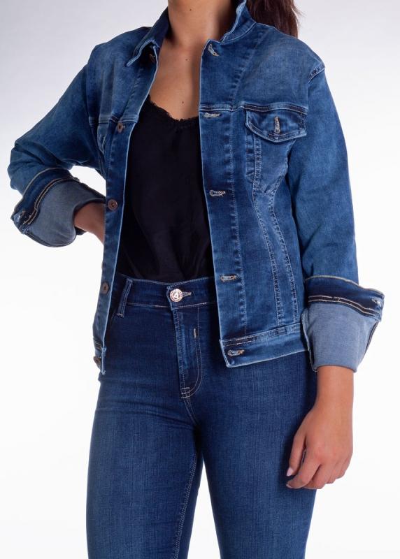 Dámské džíny - Dámská džínová bunda 366