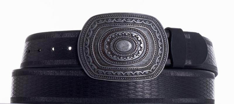 Kožené opasky - Kožený pásek Aztec vr