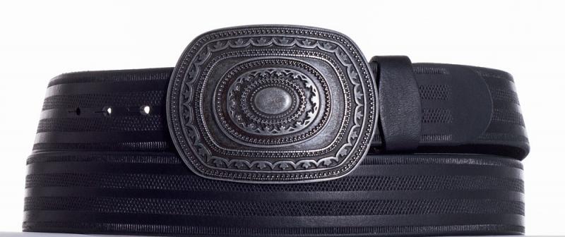 Kožené opasky - Kožený pásek Aztec pr
