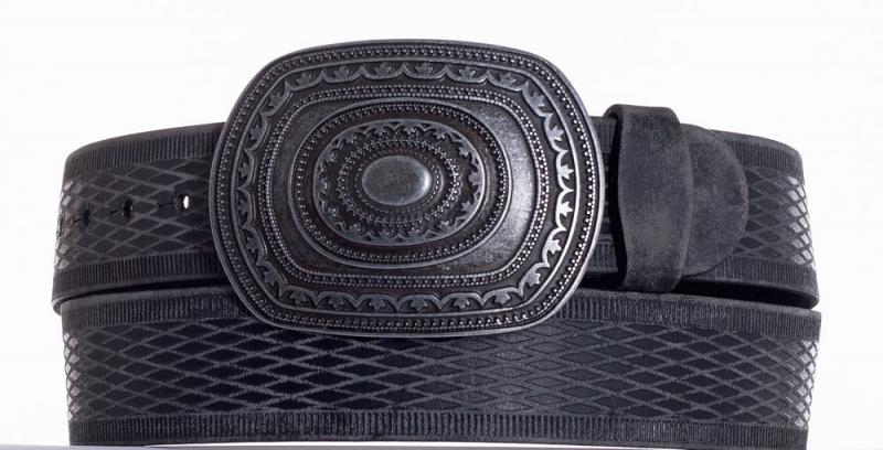 Kožené opasky - Kožený pásek Aztec vrb