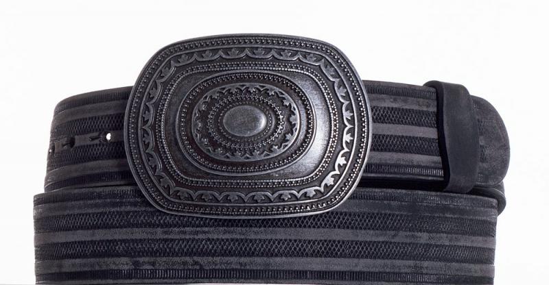 Kožené opasky - Kožený pásek Aztec prb