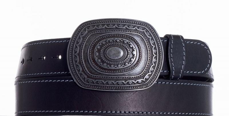 Kožené opasky - Kožený pásek Aztec obš