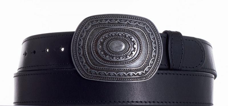 Kožené opasky - Kožený pásek Aztec obč