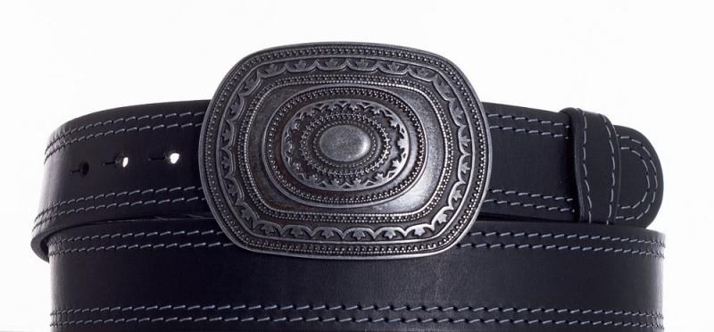 Kožené opasky - Kožený pásek Aztec ob2š