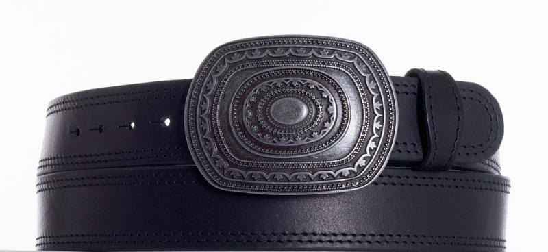 Kožené opasky - Kožený pásek Aztec ob2č