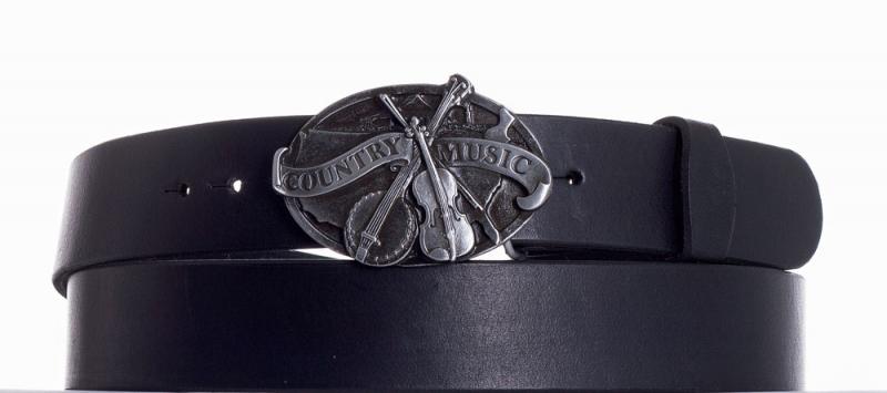 Kožené opasky - Kožený pásek Country music