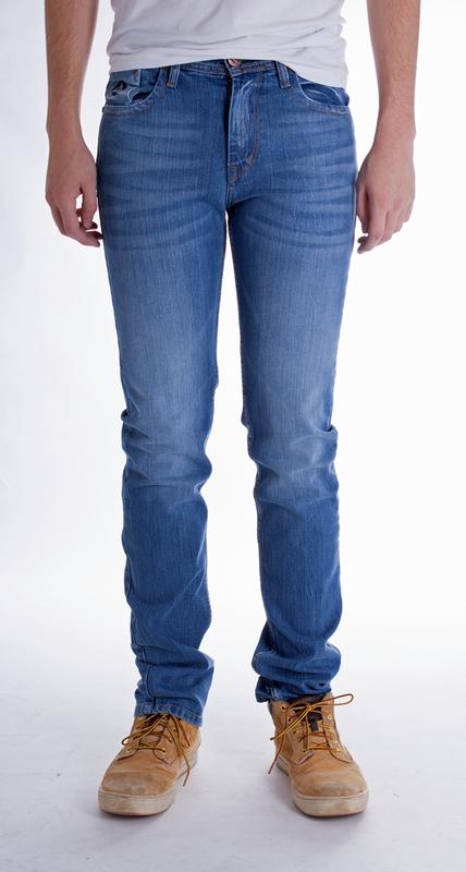 Pánské rifle - Pánské jeans Everton sil.