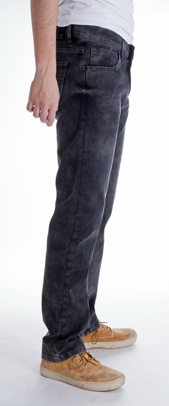 Pánské rifle - Pánské jeans Everton černo-šedé