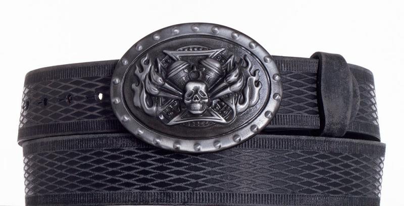 Kožené opasky - Kožený pásek Motor vrb.