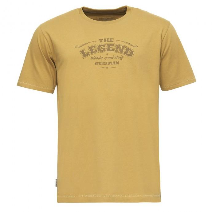 Bushman - Pánské triko Bushman -Union yellow