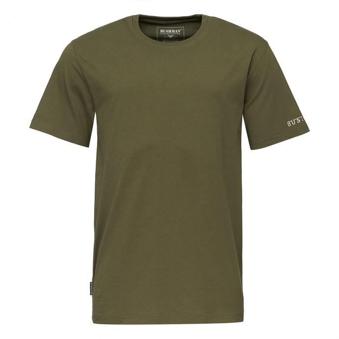 Bushman - Pánské triko Bushman Arvin dark green