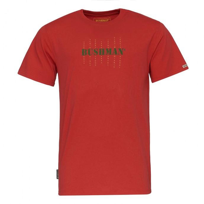 Bushman - Pánské triko Bushman Mars red
