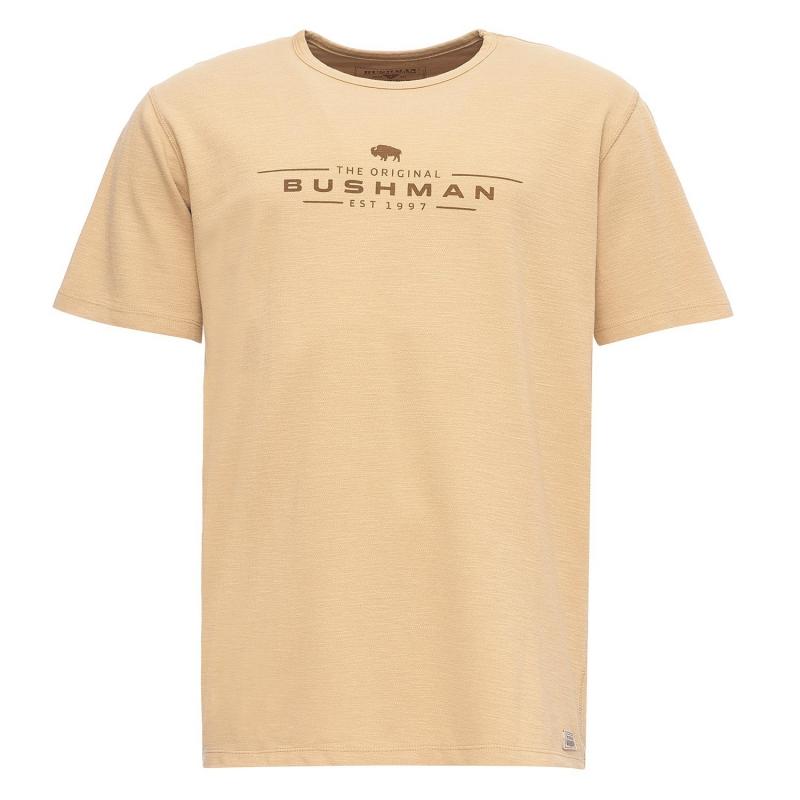 Bushman - Pánské triko Bushman Pique stone