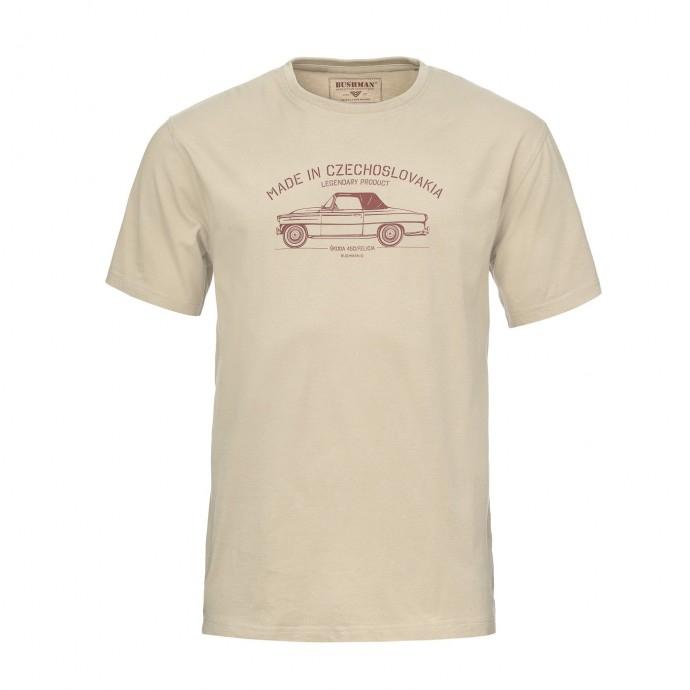 Bushman - Tričko Bobstock II beige