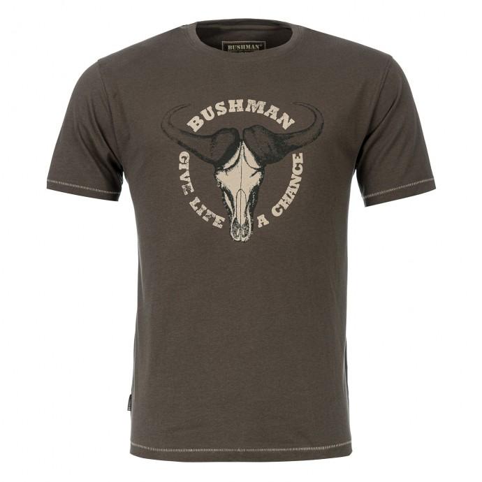 Bushman - Tričko Concord dark brown