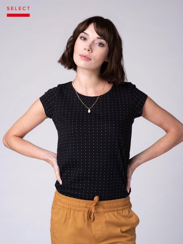 Dámská móda - Dámské triko Alma černé