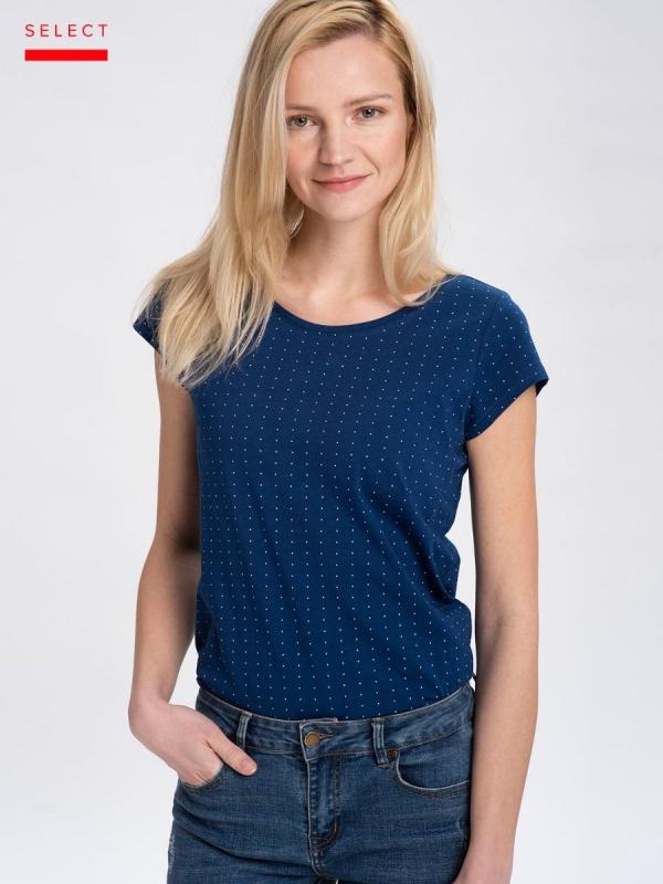 Dámská móda - Dámské triko Alma modré