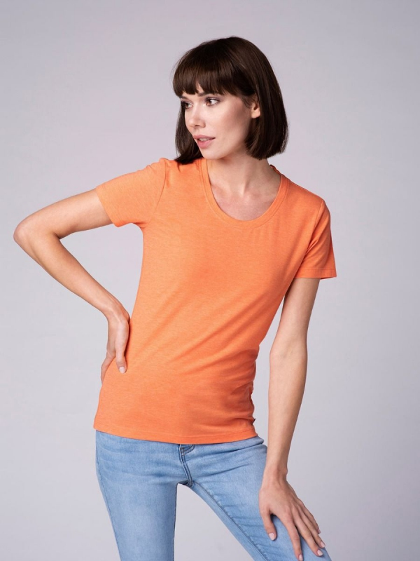 Dámská móda - Dámské tričko Diana pomerančové