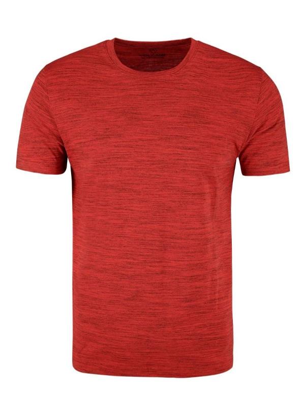Pánská móda - Pánské triko Renly červený melír