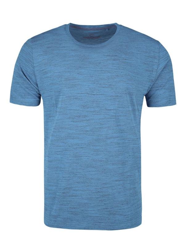 Pánská móda - Pánské triko Renly modrý melír