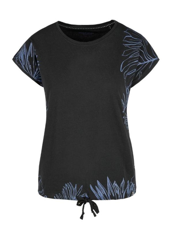 Dámská móda - Dámské triko tropic černé