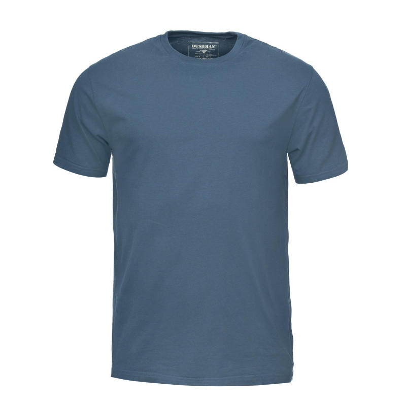 Bushman - Pánské triko Arvin blue