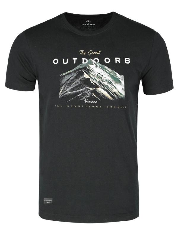 Pánská móda - Pánské triko Great černé