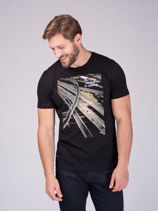 Pánská móda - Pánské triko Keep