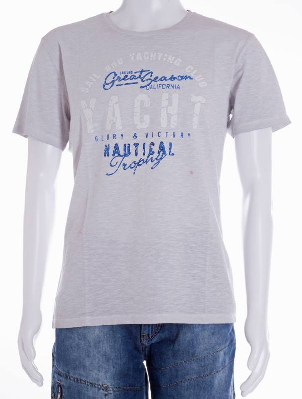 Pánská móda - Pánské triko 9920 šedé