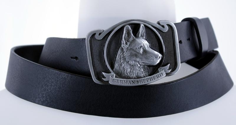 Kožené opasky - Kožený pásek ovčák