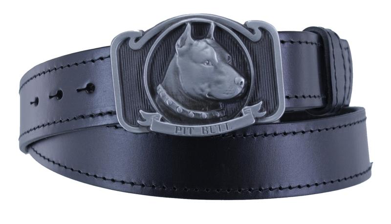 Kožené opasky - Pit bull ob