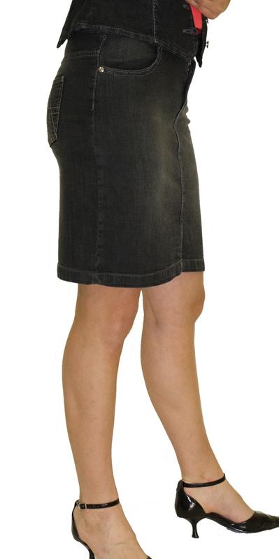 Dámské džíny - riflová sukně