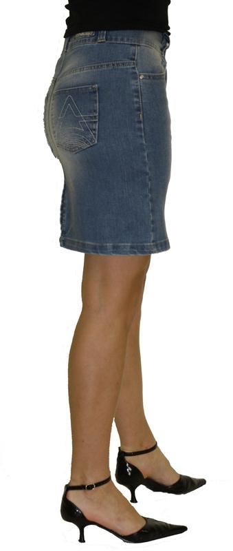 Dámské džíny - Džínová sukně