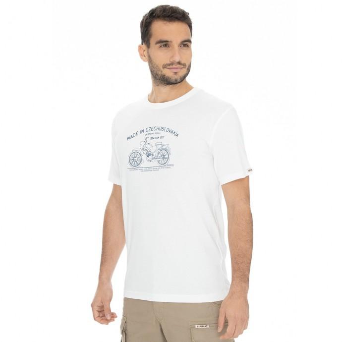 Bushman - Pánské triko Bobstock II white