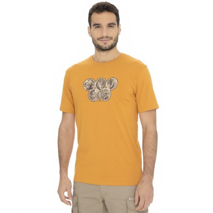 Bushman - Pánské triko Kalamzoo orange