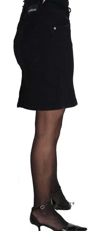Dámské džíny - Sukně riflová černá