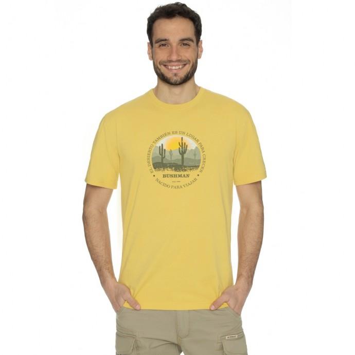 Bushman - Tričko Journey yellow