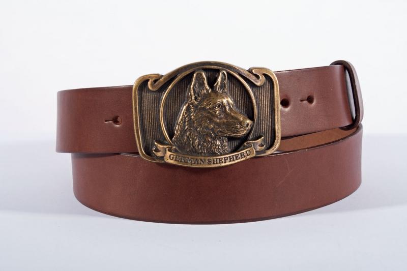 Kožené opasky - Pásek ovčák