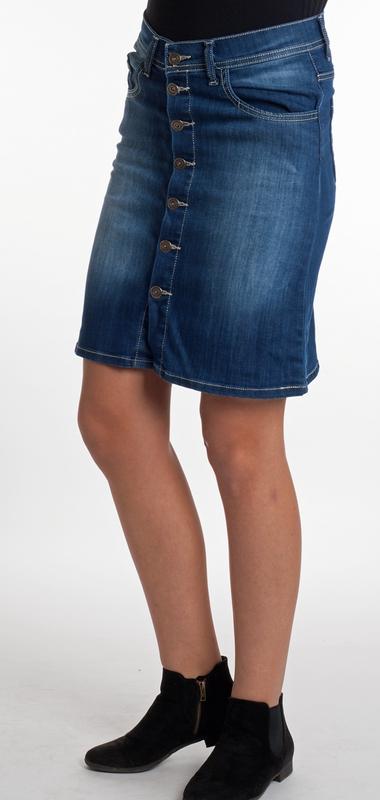 Dámské džíny - Sukně propínací