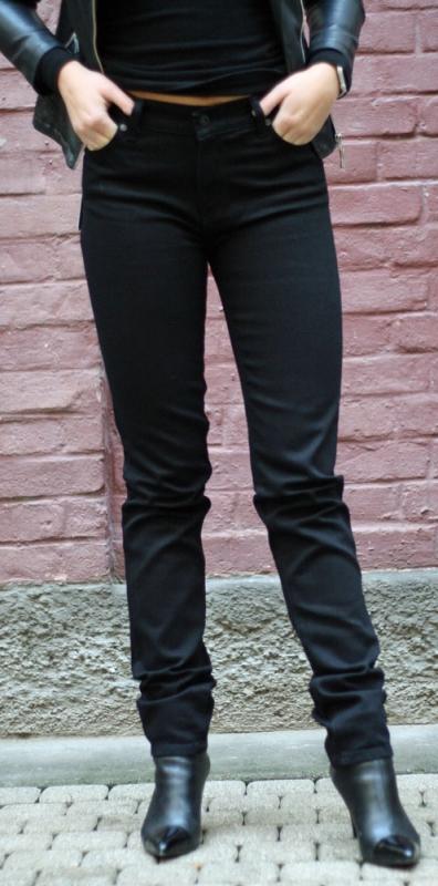 Dámské džíny - Dámské džíny Afrodita černé 33