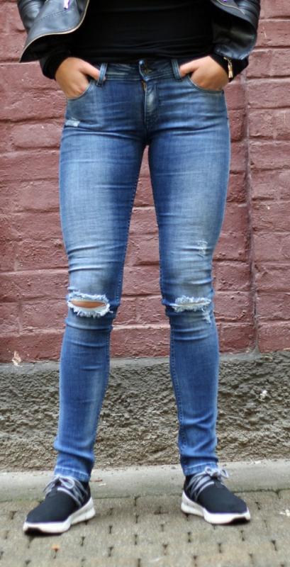 Dámské džíny - Dámské džíny Levante 33-díra