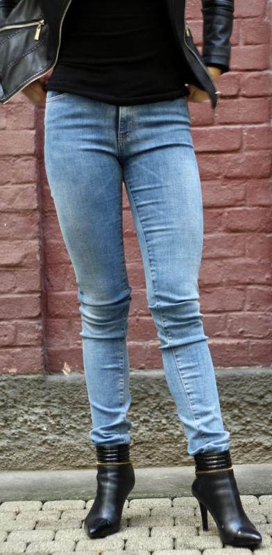 Dámské džíny - Dámské džíny Afrodita 33 světlé