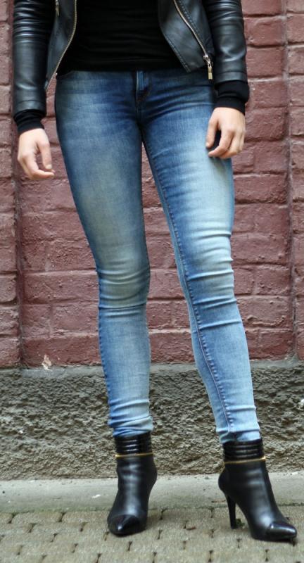 Dámské džíny - Dámské džíny Palmas push-up