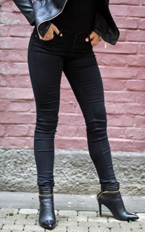Dámské džíny - Dámské džíny Palmas černé